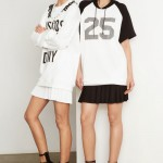 Sporty Chic black white