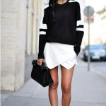 Sporty Chic style black white look