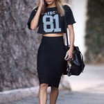 Sporty Chic style look gym