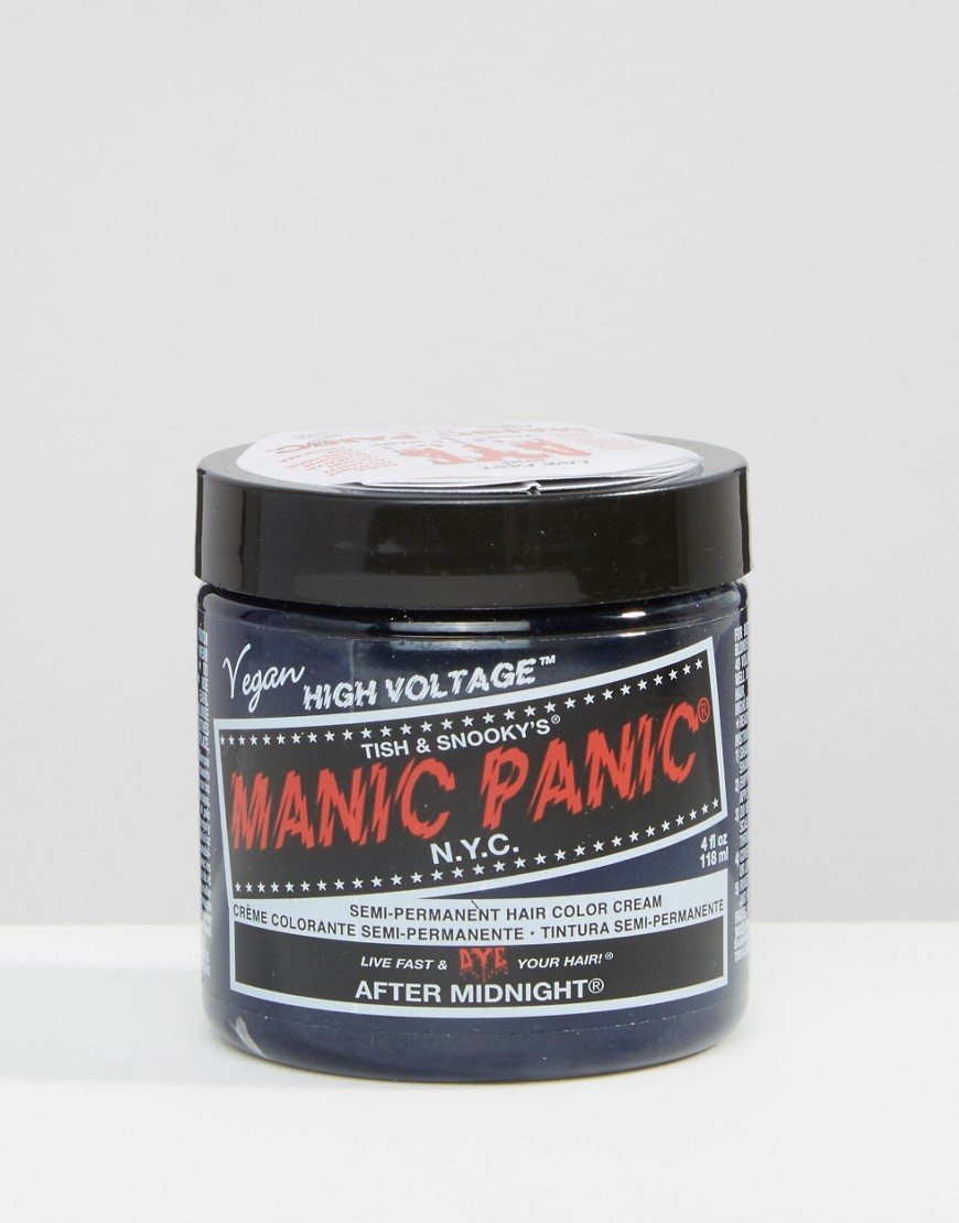 Manic Panic - NYC - Crema colorata classica per capelli semipermanente - After Midnight - Blu