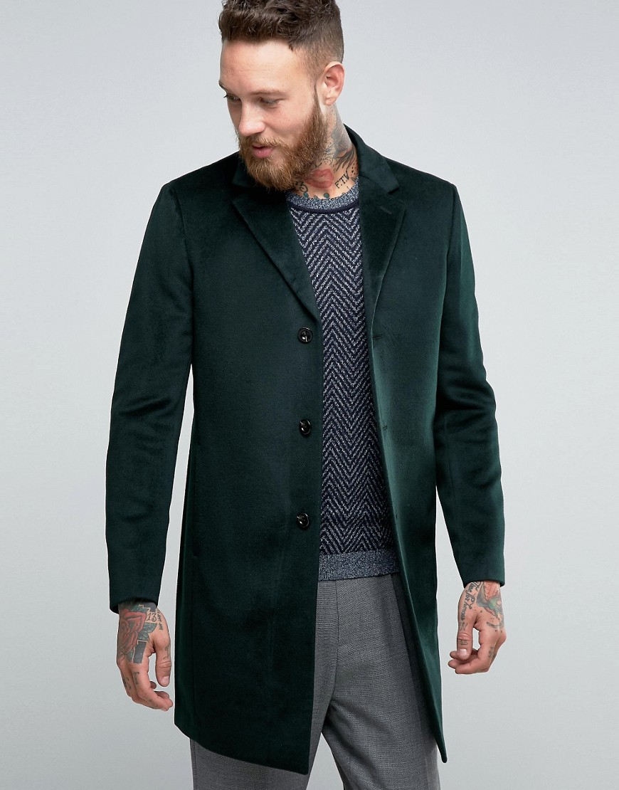 Reiss - Cappotto - Verde