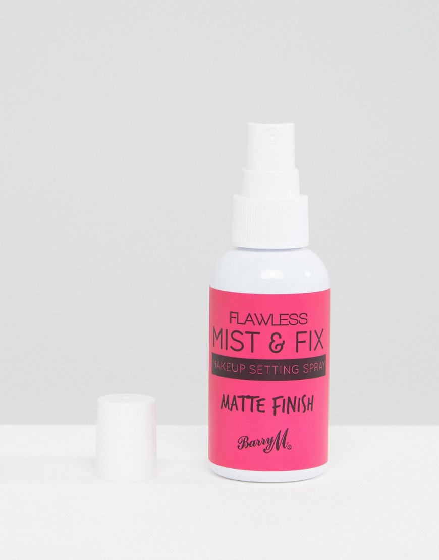 Barry M - Make Mist & Fix Matte Finish - Spray fissante trucco da 50 ml - Nessun colore
