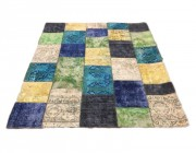 Tappeto patchwork aquacolor
