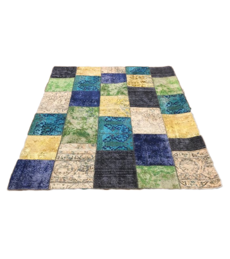 Tappeto patchwork aguacolor 239 x 172