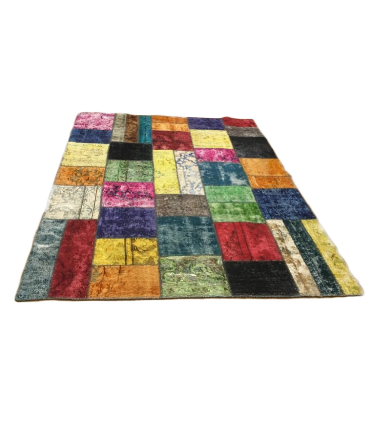 Tappeto patchwork multicolor 300 x 200