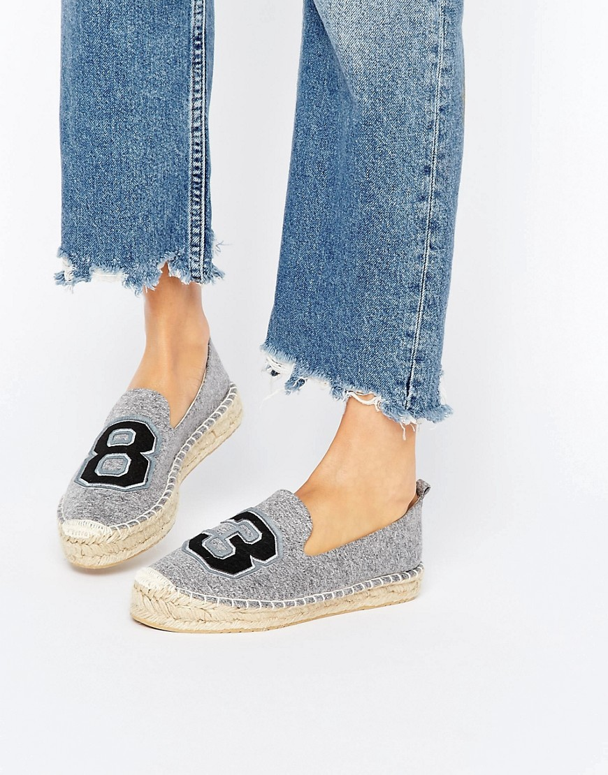 ASOS - JANUARY - Espadrillas - Grigio