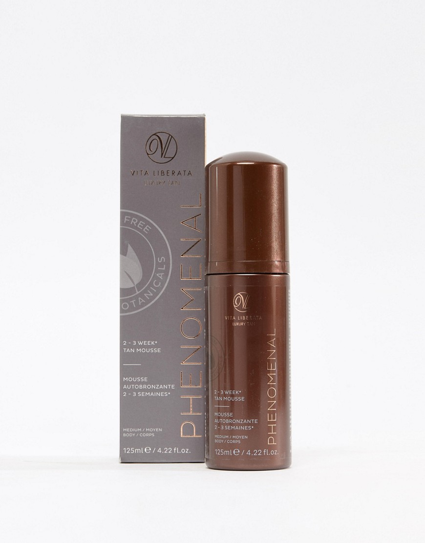 Vita Liberata - pHenonmenal 2-3 Week - Mousse abbronzante media da 125 ml - Nessun colore