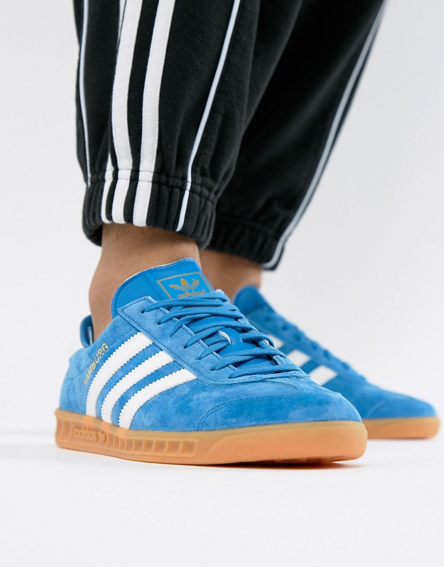 adidas Originals - Hamburg - Sneakers unisex - Blu