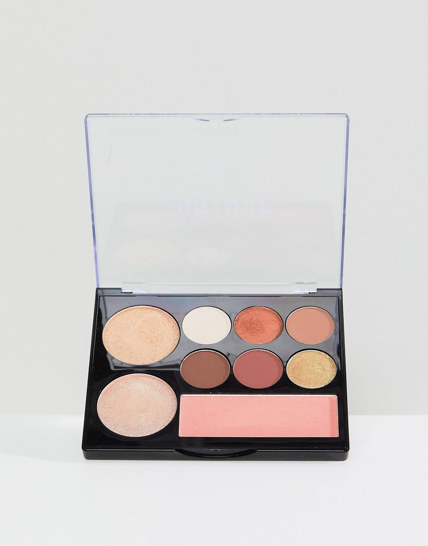 NYX Professional Makeup - Intuitive - Palette per contouring - Warm Zone - Multicolore