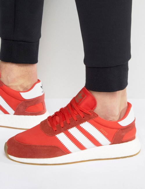 adidas Originals - I-5923 Runner BB2091 - Sneakers rosse - Rosso